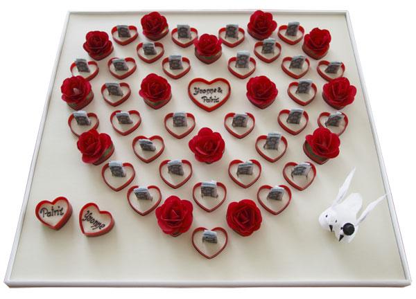 Mitarbeitergeschenk Zur Hochzeit Romantische Herzenverpackung